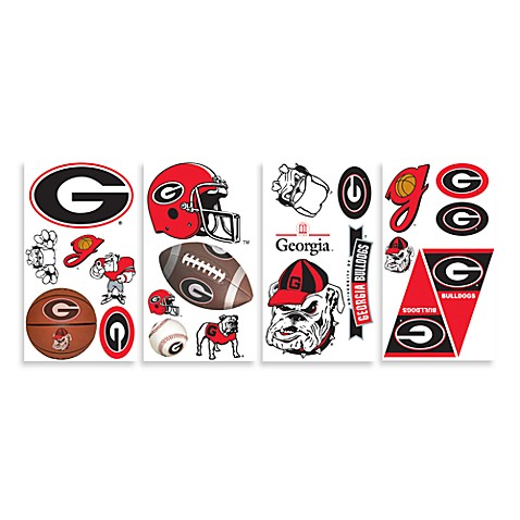 University of Georgia Peel & Stick Wall Decals