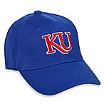 University of Kansas One-Fit Adult Fitted Hat
