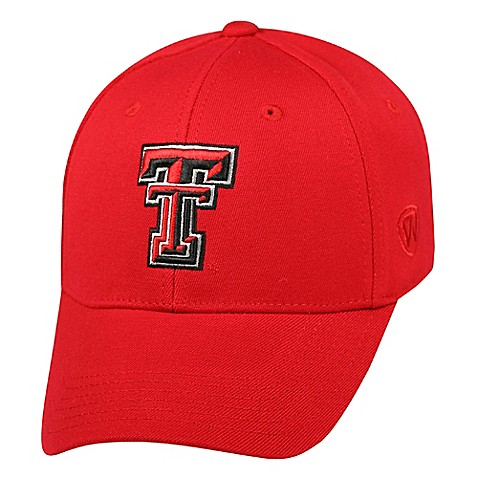 Texas Tech University One-Size Adult Fitted Hat