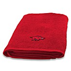 University of Arkansas 100% Cotton Bath Towel