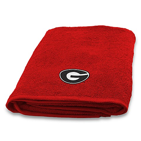 University of Georgia Bath Towel 100% Cotton