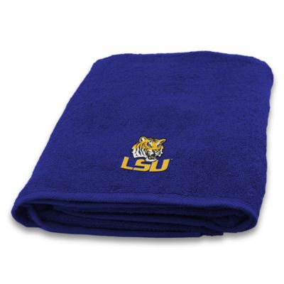 Louisiana State University 100% Cotton Bath Towel