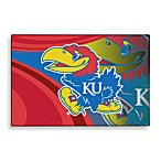 University of Kansas Tufted Acrylic Rug