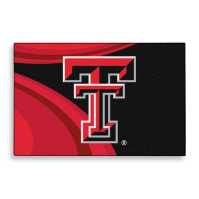 Texas Tech Tufted Acrylic Rug