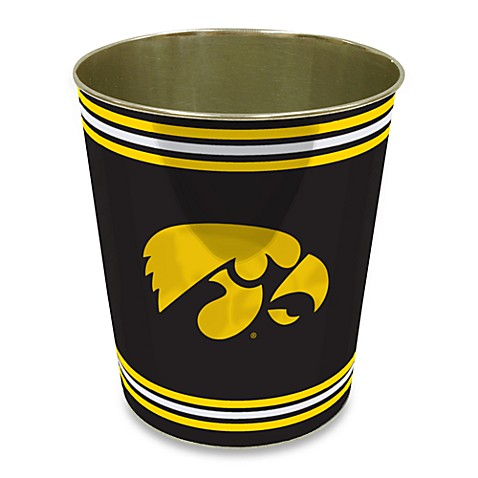 University of Iowa Trash Can