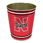 University of Nebraska Trash Can