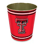 Texas Tech Trash Can