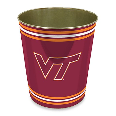 Virginia Tech Trash Can
