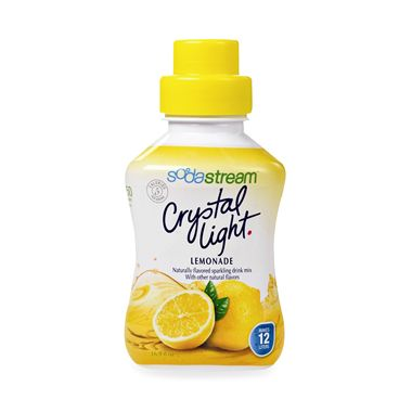 SodaStream Crystal Light Lemonade Sparkling Drink Mix