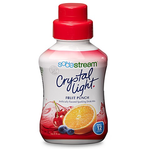 SodaStream Crystal Light Fruit Punch Sparkling Drink Mix