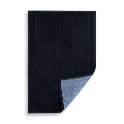 Microdry® Reversible 17-Inch x 24-Inch Microfiber Step Out Mat in Navy