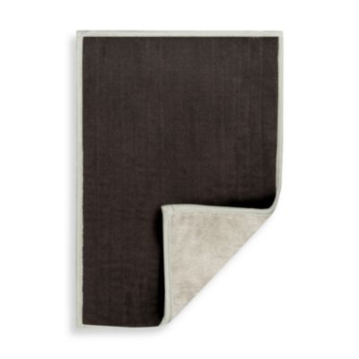 Reversible 17-Inch x 24-Inch Microfiber Step Out Mat in Brown