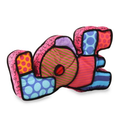 Britto™ from Enesco® by Gund® Love Mini Pillow