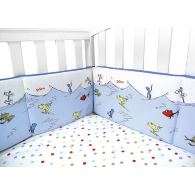 Trend Lab® Dr. Seuss™ One Fish Two Fish Crib Bumper