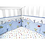 Dr Seuss One Fish Two Fish Crib Bumper