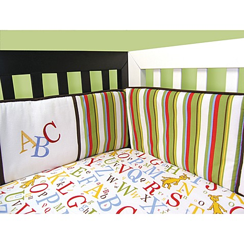 Trend Lab® Dr. Seuss™  ABC™ 4-Piece Crib Bumper Set