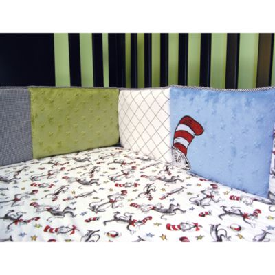 Dr. Seuss' Cat in the Hat Crib Bumper