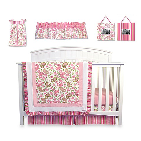 Trend Lab 174 Paisley Park 7 Piece Crib Bedding Set