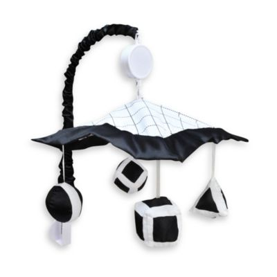 Trend Lab® Versailles Black and White Musical Mobile