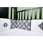 Trend Lab® Versailles Black and White Crib Bumper