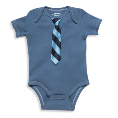 Blume™ Little Man Bodysuit in Blue