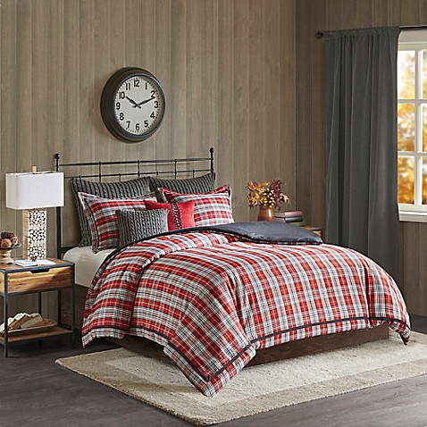 Willamsport Plaid Comforter Collection
