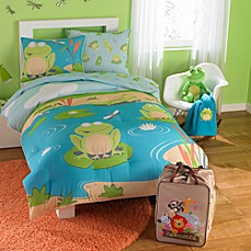 F is for Frog Zoomates™ Bedding Comforter Set