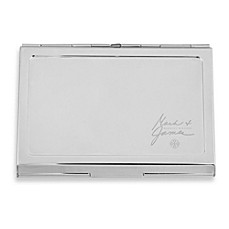 Mark & James by Badgley Mischka The Modernist Stainless Steel Card Case with Inside Clip