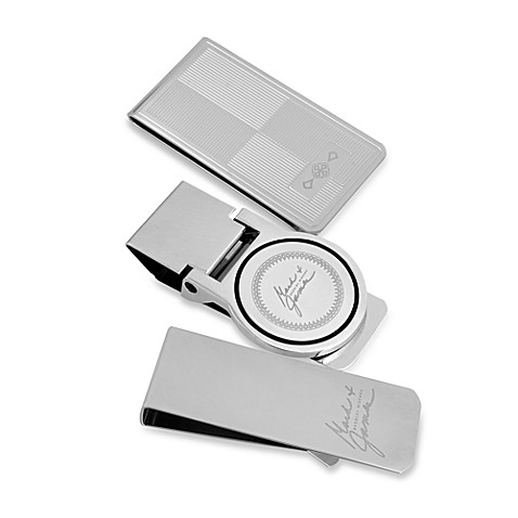 Mark & James by Badgley Mischka The Modernist Stainless Steel Money Clips