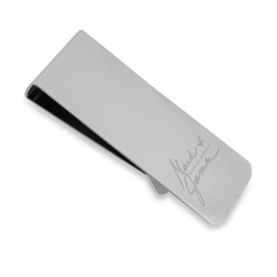 Mark & James by Badgley Mischka The Modernist Stainless Steel Polished Money Clip