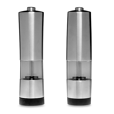 BergHOFF® Electric Salt & Pepper Mill Set