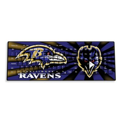 NFL Baltimore Ravens Wireless Keyboard