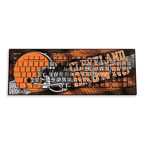 NFL Cleveland Browns Wireless Keyboard