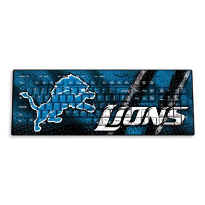 NFL Detroit Lions Wireless Keyboard