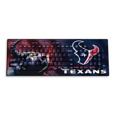 NFL Houston Texans Wireless Keyboard