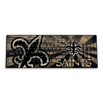 NFL New Orleans Saints Wireless Keyboard