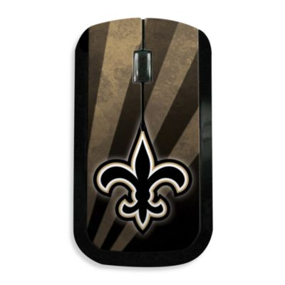 NFL New Orleans Saints Wireless Mouse