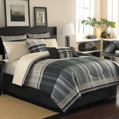 Cambridge Reversible Queen Complete Bed Ensemble