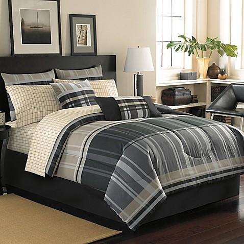 Cambridge Reversible Complete Comforter Set Bed Bath