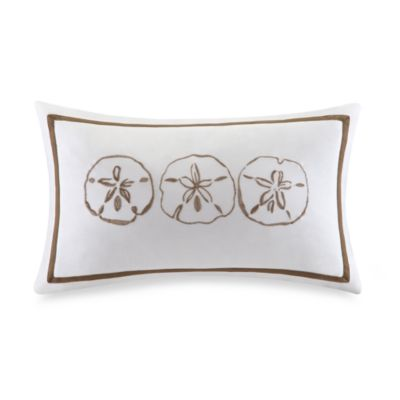 Harbor House Sand Dollar Breakfast Pillow