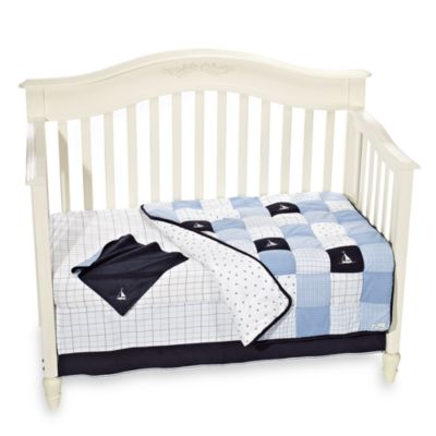 Nautica Kids® William 6-Piece Crib Bedding Set