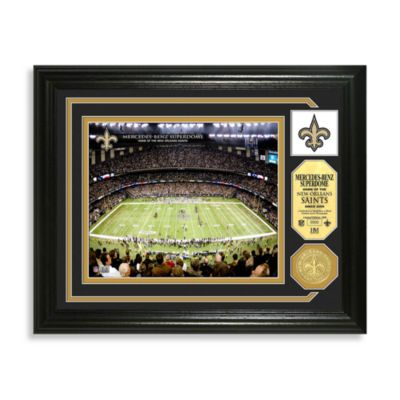 New Orleans Saints Minted Team Medallion Photo Mint