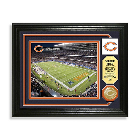 Chicago Bears Minted Team Medallion Photo Mint