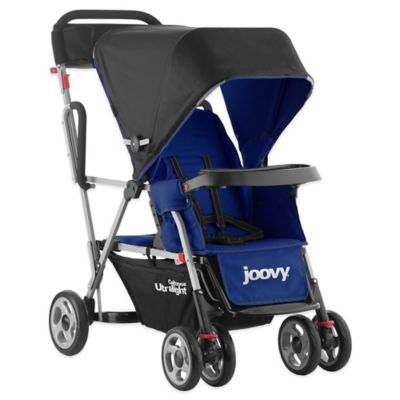 Double Strollers > Joovy® Caboose Ultralight Stand-On Tandem Stroller in Blueberry