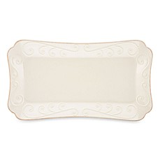 Lenox® French Perle Hors D'oeuvre Tray in White