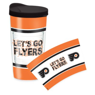 Tervis® NHL Philadelphia Flyers Wrap 16-Ounce Tumbler with Lid