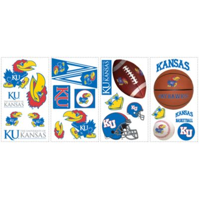 University of Kansas Peel & Stick Wall Decals