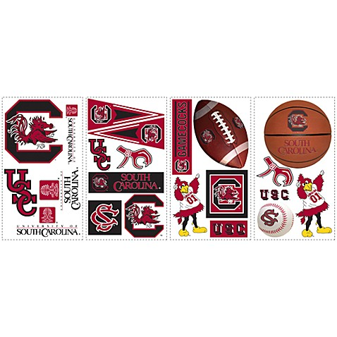 University of South Carolina Peel & Stick Wall Decals