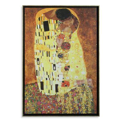 The Kiss by Gustav Klimt Wall Art