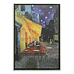 The Cafe Terrace on the Place du Forum in Arles at Night by Vincent van Gogh Wall Art